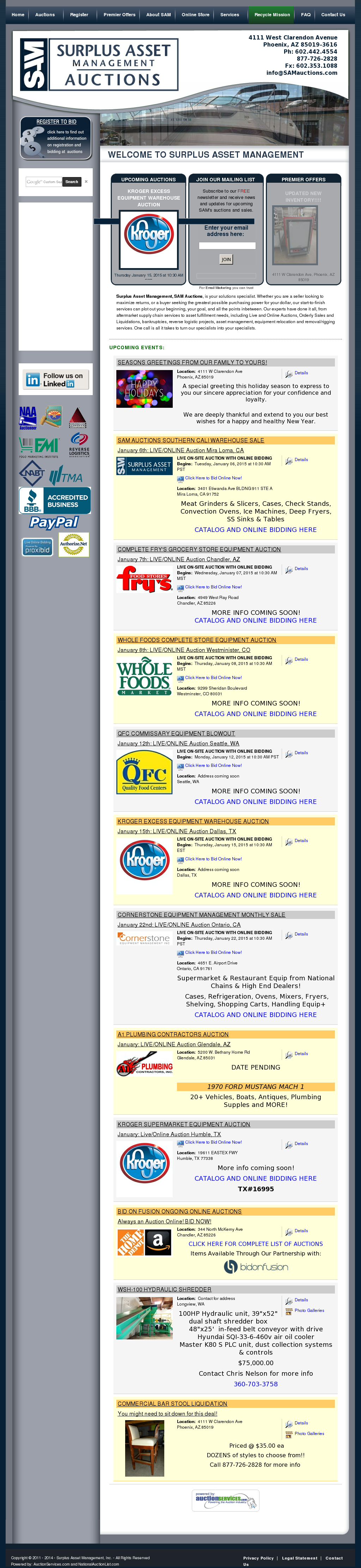 Sam Auctions Competitors Revenue And Employees Owler Company Profile