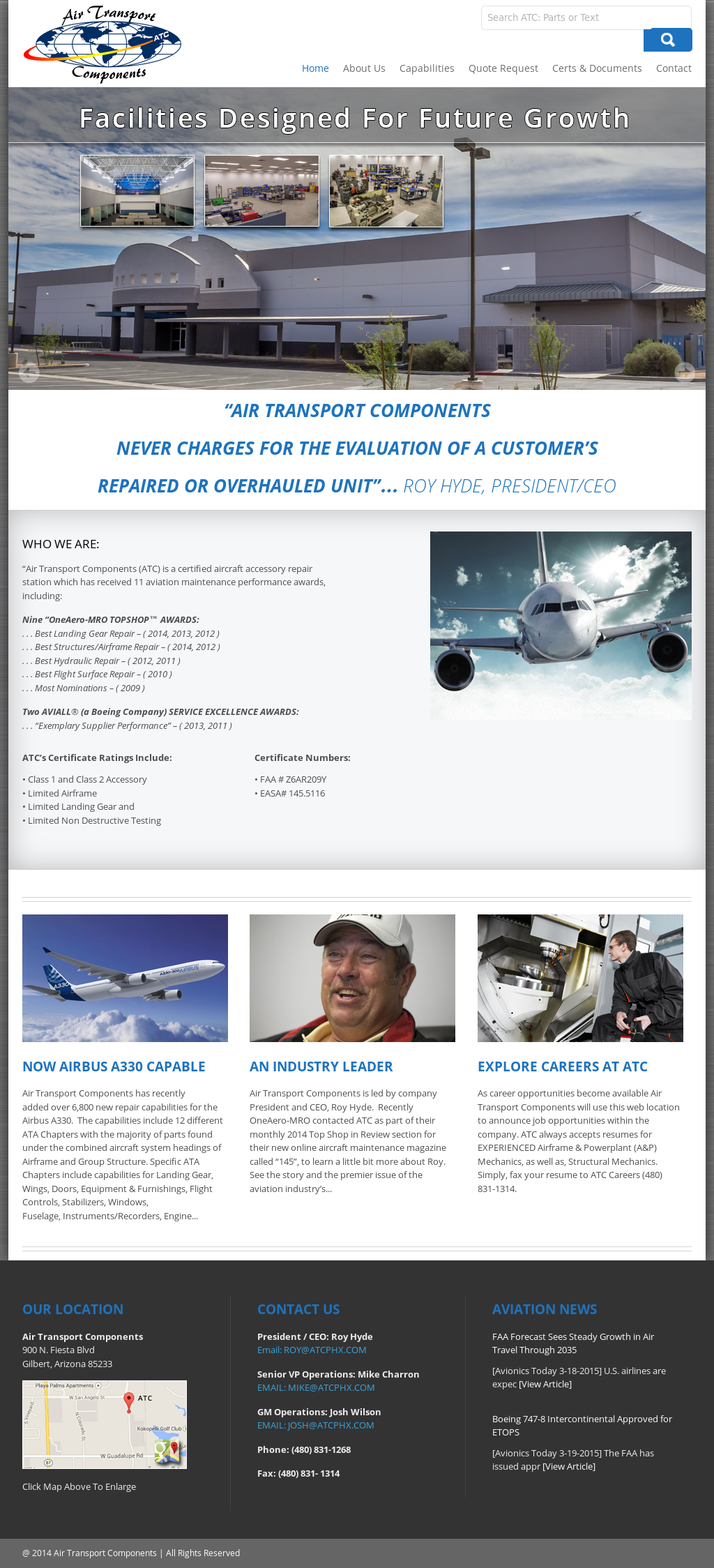 Air Transport Components Competitors, Revenue and Employees