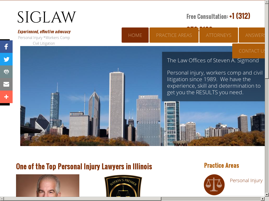 The Law Office Of Steven A Sigmond Competitors Revenue And Employees
