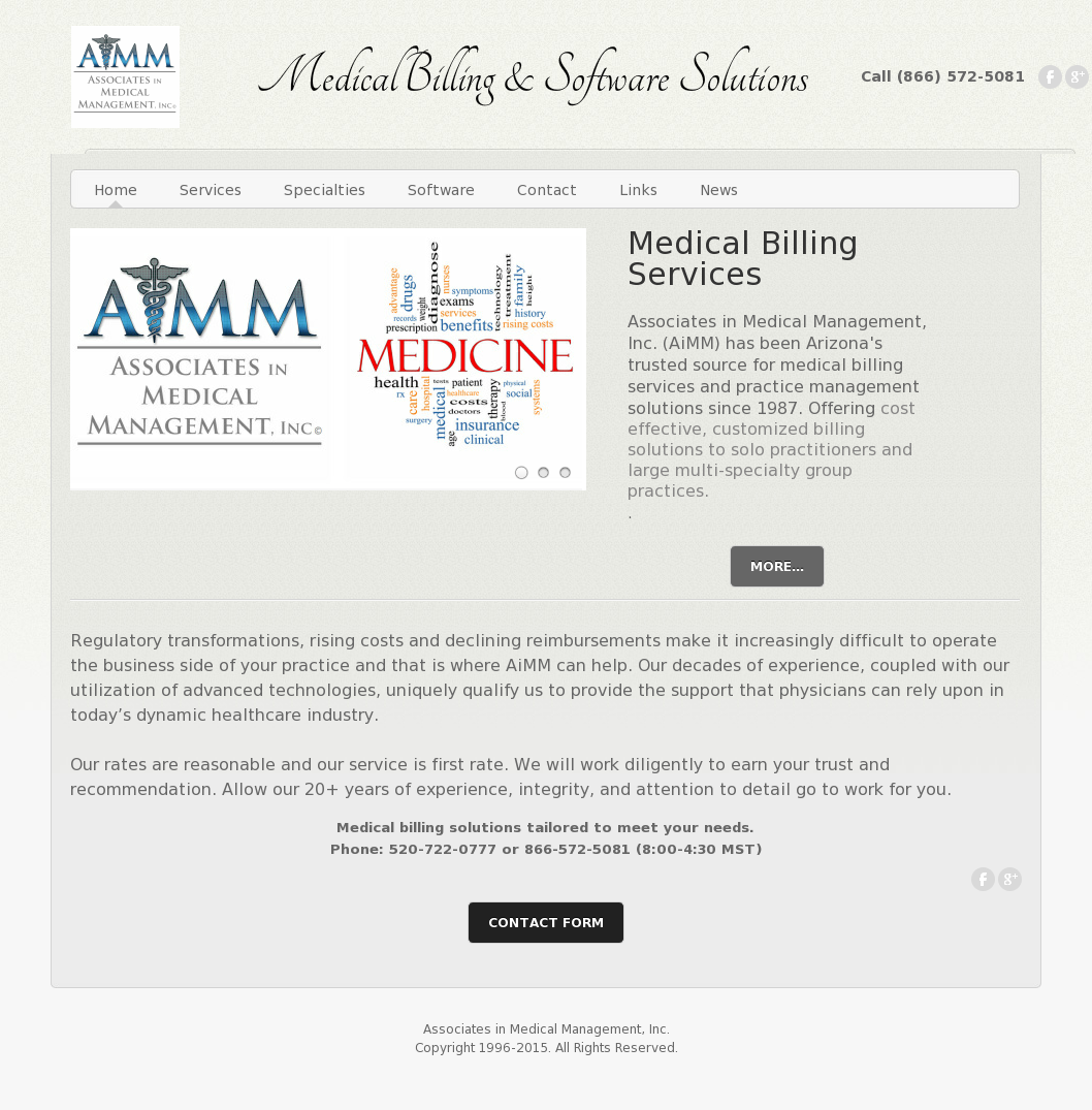 Associates In Medical Management Competitors Revenue And Employees