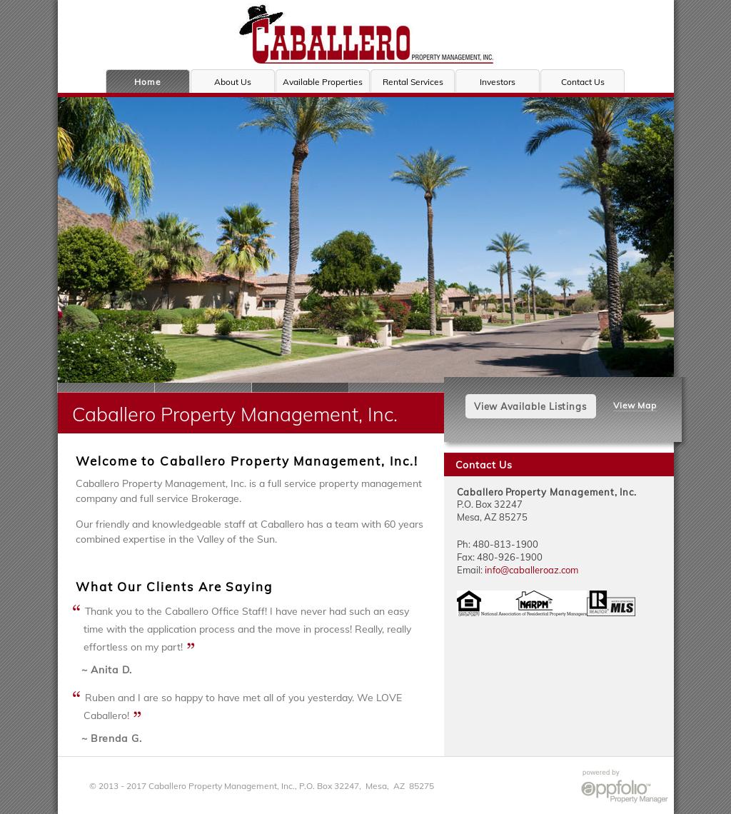 Property Management Companies In Mesa Az