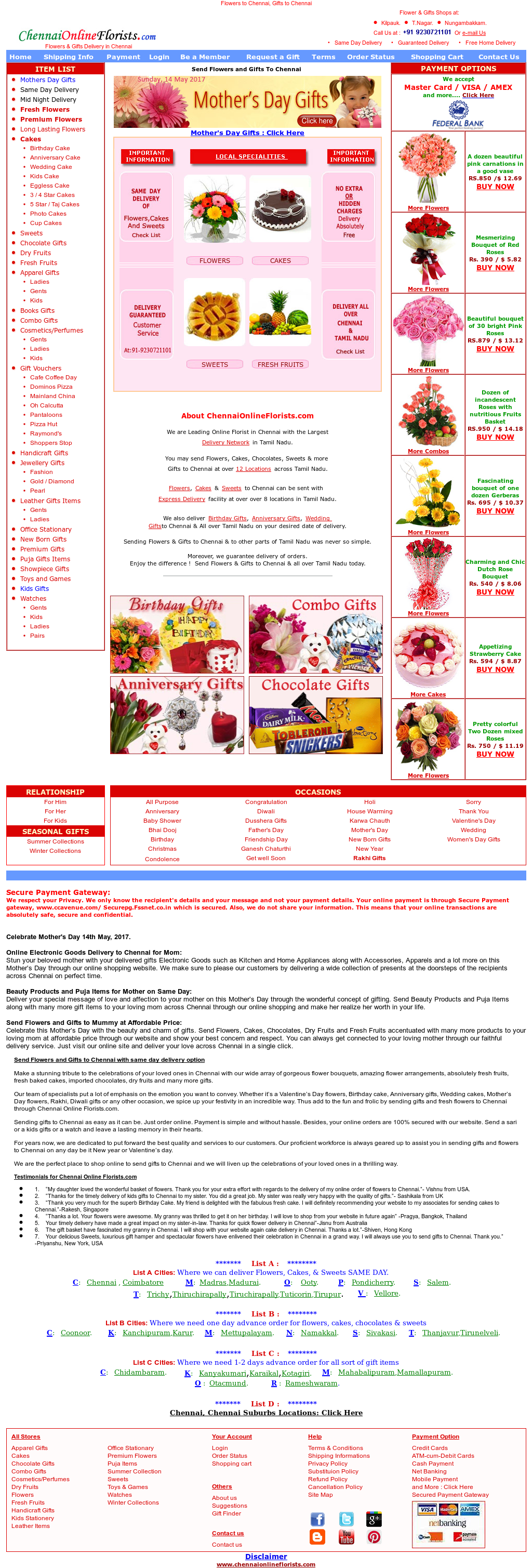 Chennaionlineflorists Competitors, Revenue and Employees - Owler