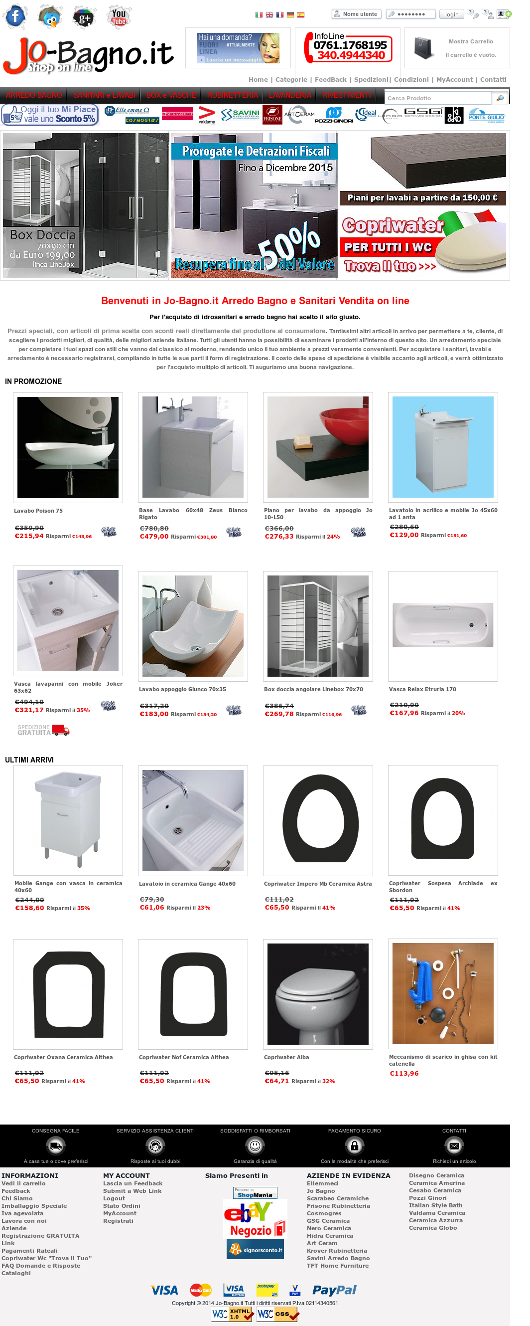 Accessori Bagno Neri jo-bagno.it sanitari e arredo bagno competitors, revenue and