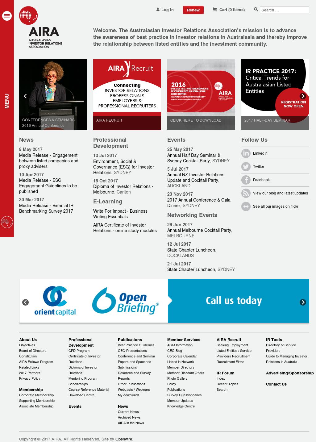 Australasian Investor Relations Association Aira Competitors