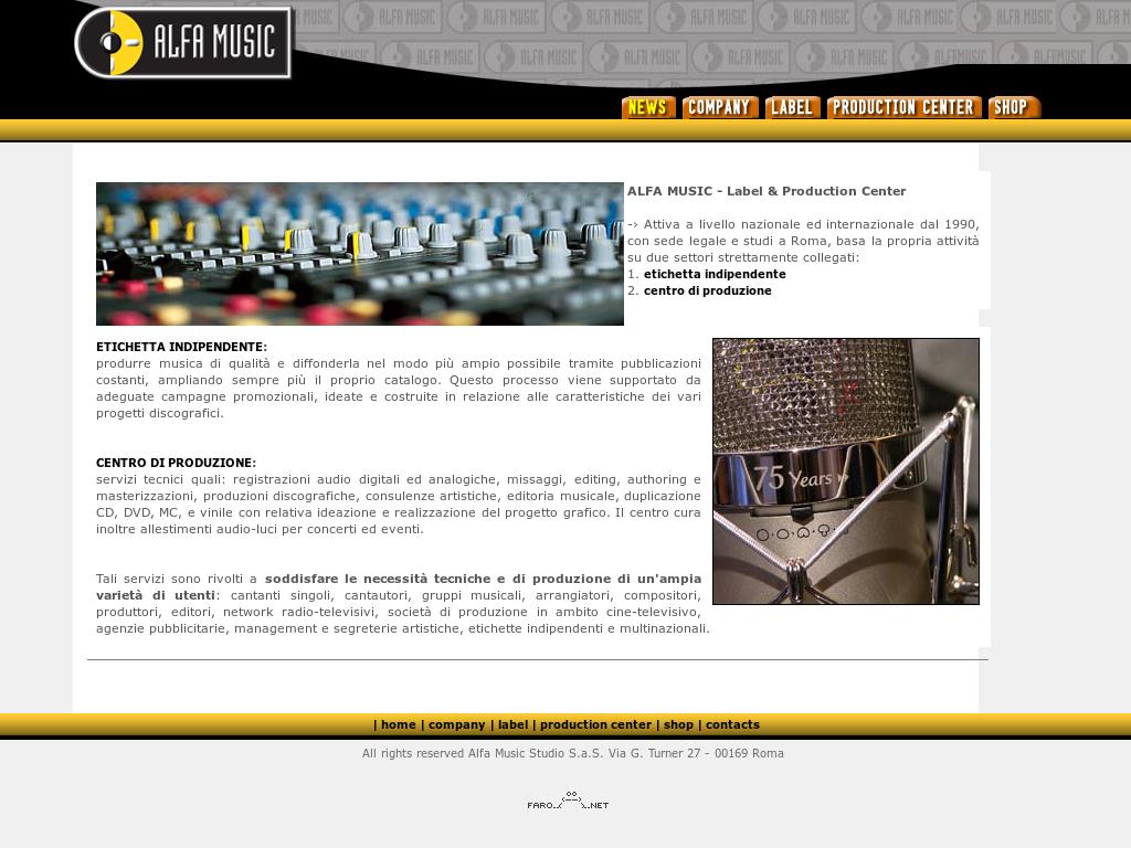 Alfamusic Studio S.a.s Competitors 74b1be5d435e