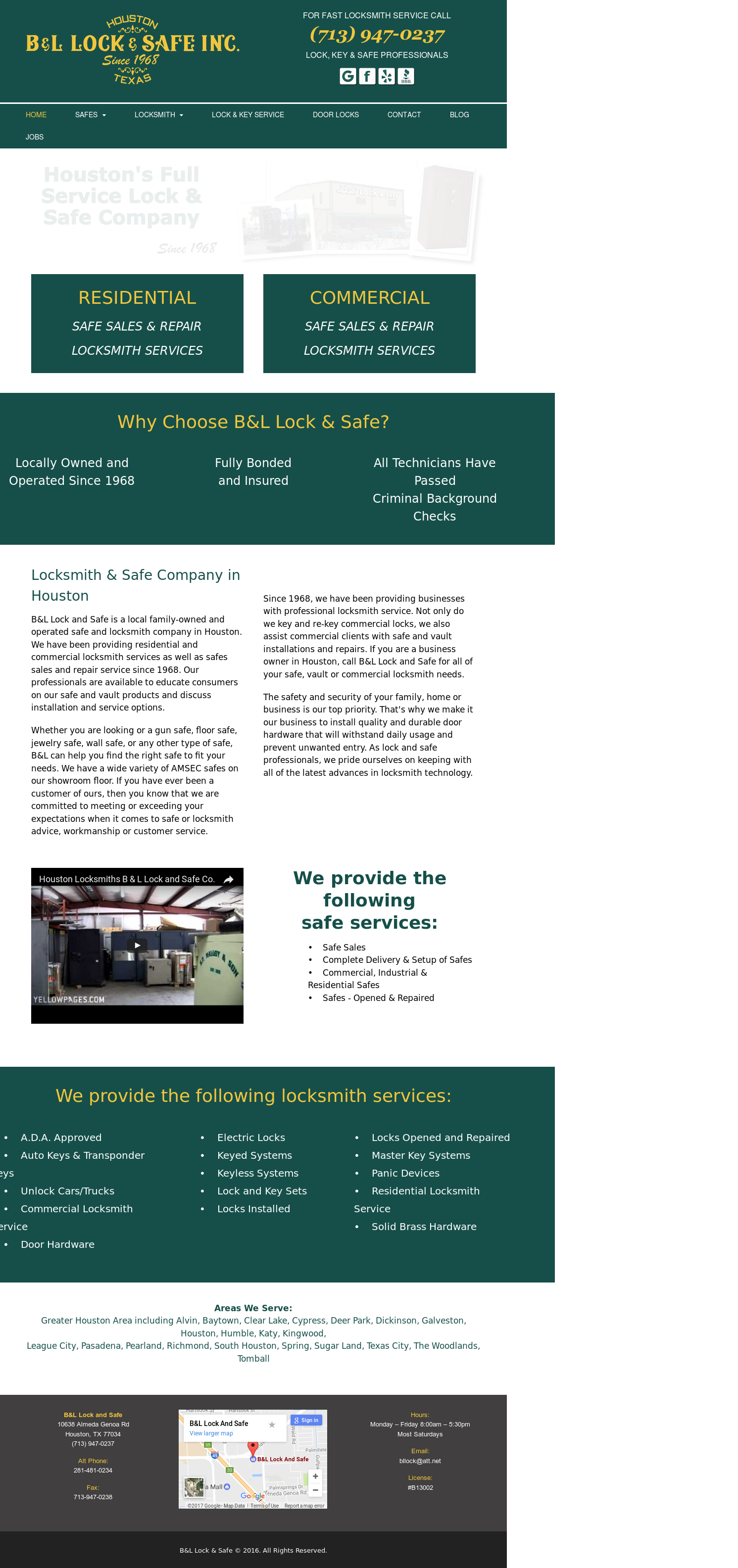 B&l Lock And Safe Competitors, Revenue and Employees - Owler Company