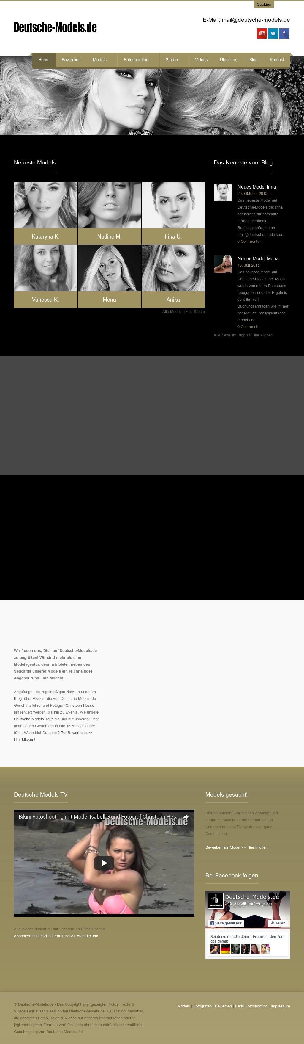 deutsche models competitors revenue and employees owler company profile - Bewerbung Model