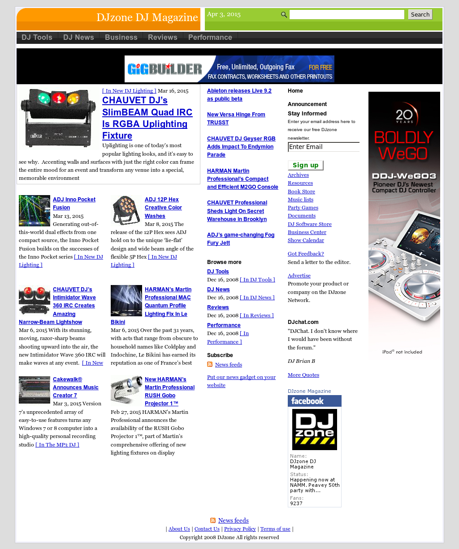 Djzone Dj Magazine Competitors, Revenue and Employees