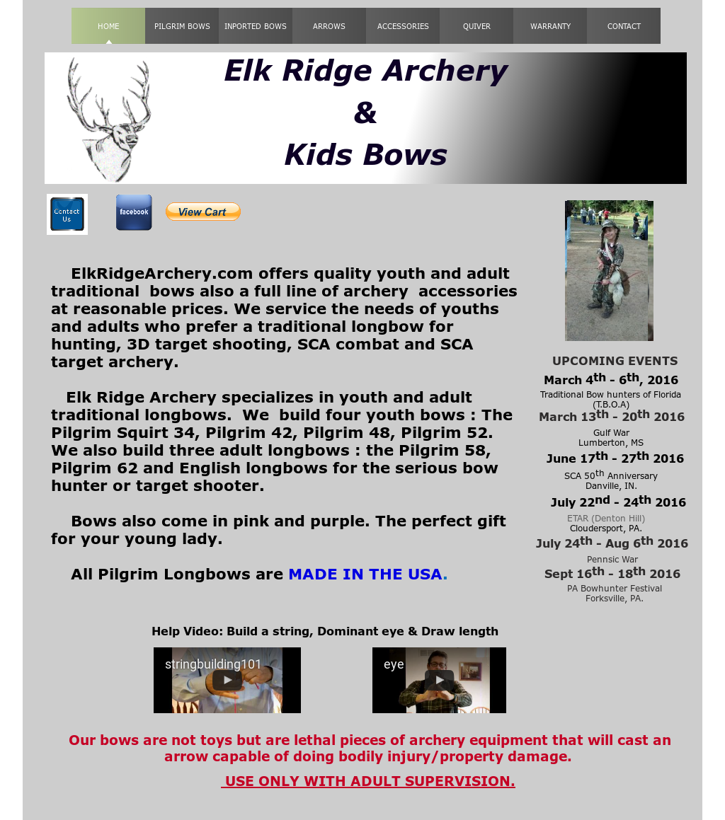 Elk Ridge Archery & Kids Bows Competitors, Revenue and Employees