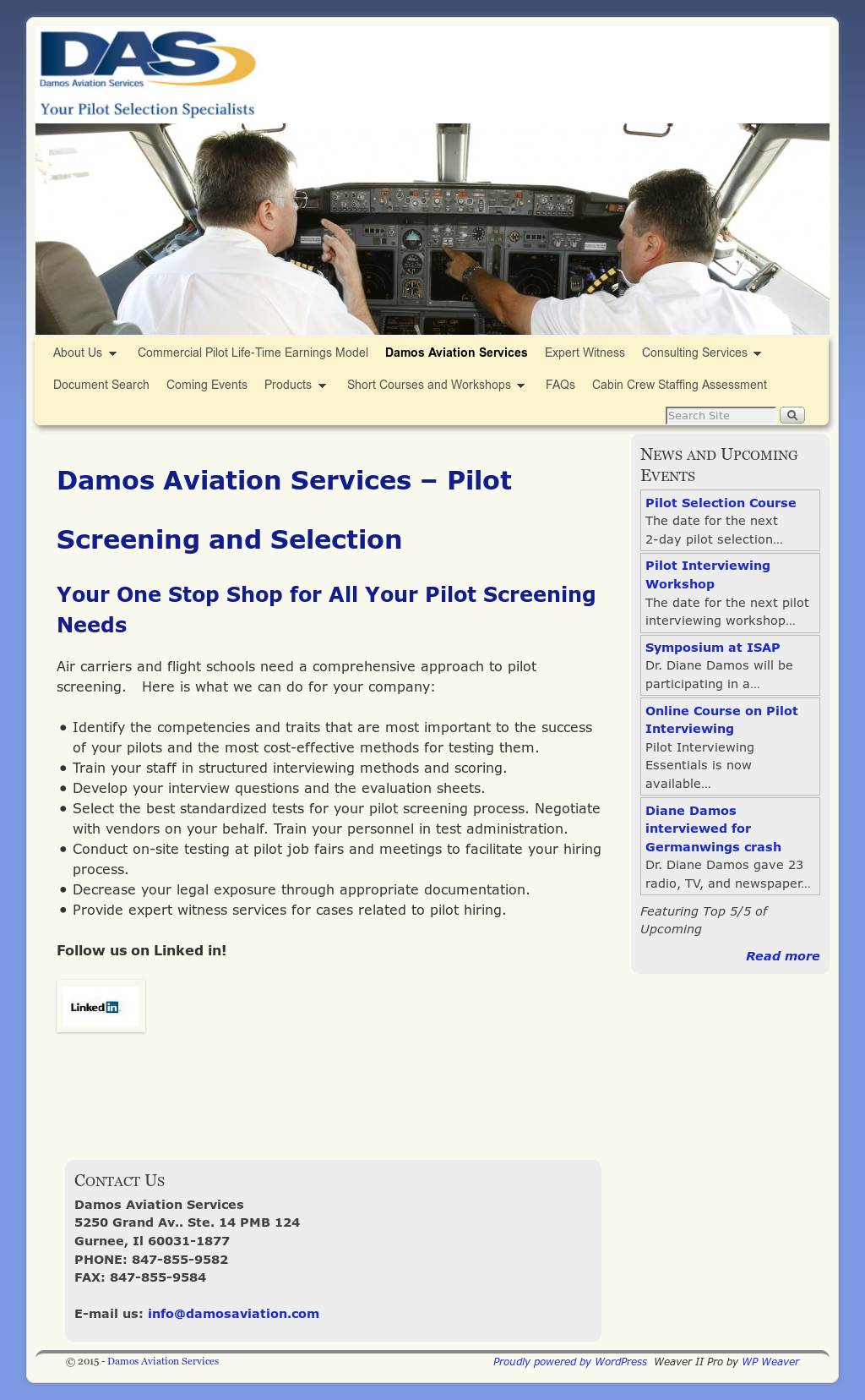 Damos Aviation Services Competitors, Revenue and Employees