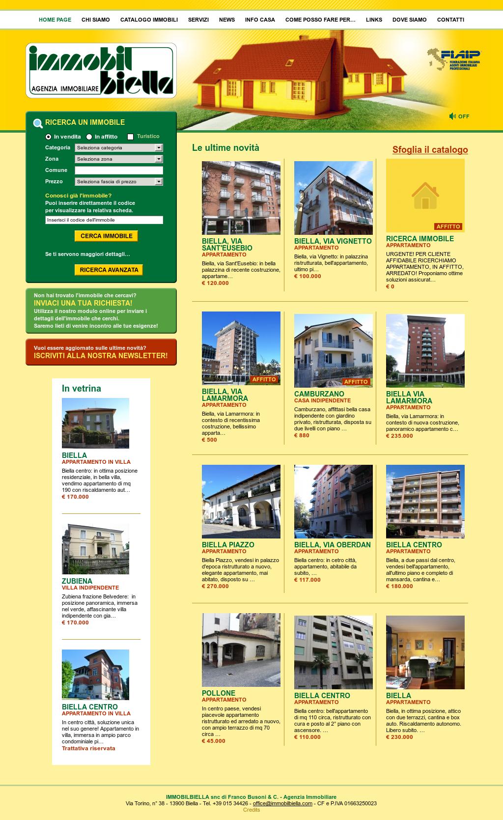 Agenzie Immobiliari Trento Città immobilbiella s.n.c competitors, revenue and employees