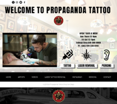 Propagandatattoo competitors revenue and employees for Propaganda tattoo el cajon