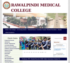 Rawalpindi Medical College Competitors, Revenue and Employees