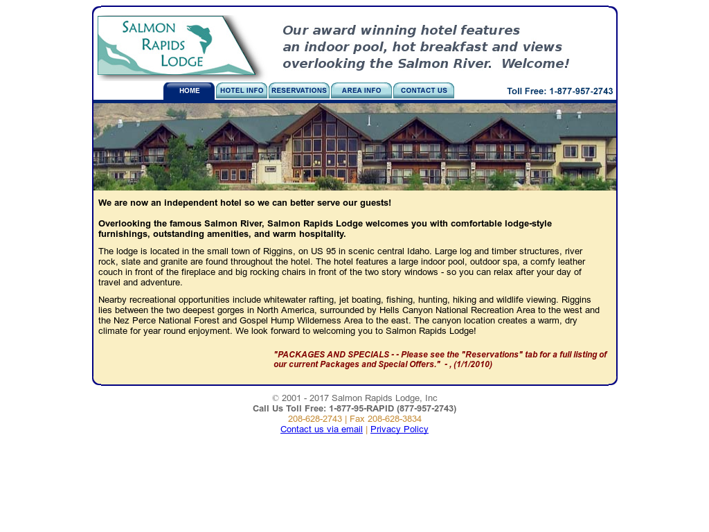 Salmon Rapids Lodge Competitors, Revenue and Employees - Owler