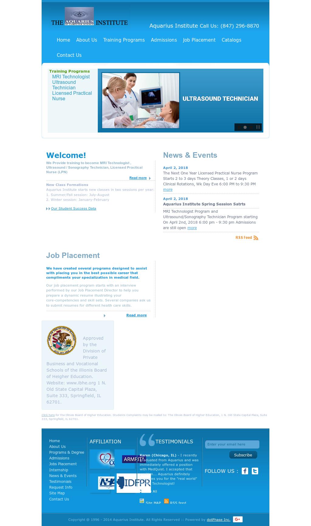 Aquarius Institute Competitors, Revenue and Employees - Owler