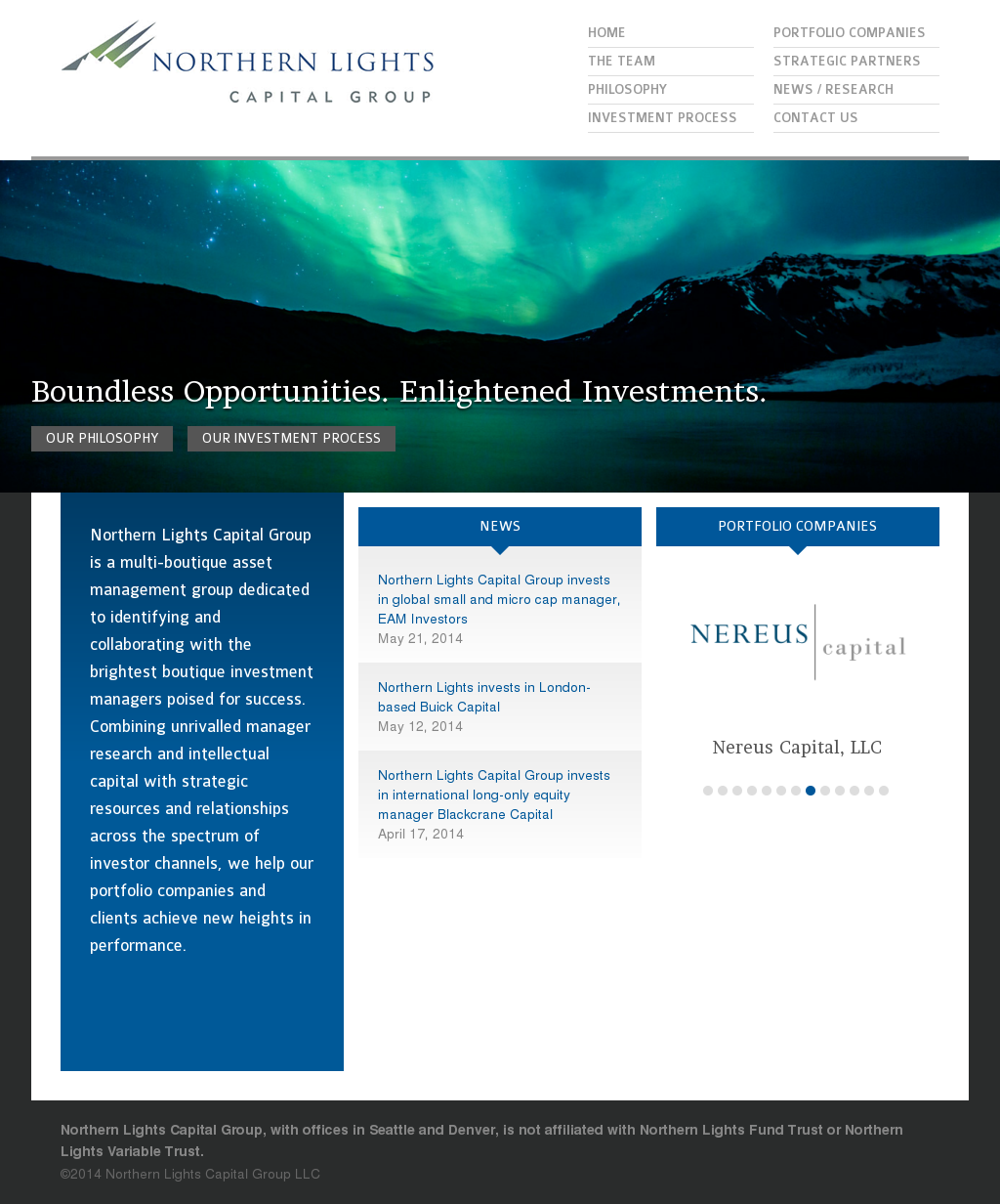 Northern Lights Capital Group Competitors Revenue And Employees