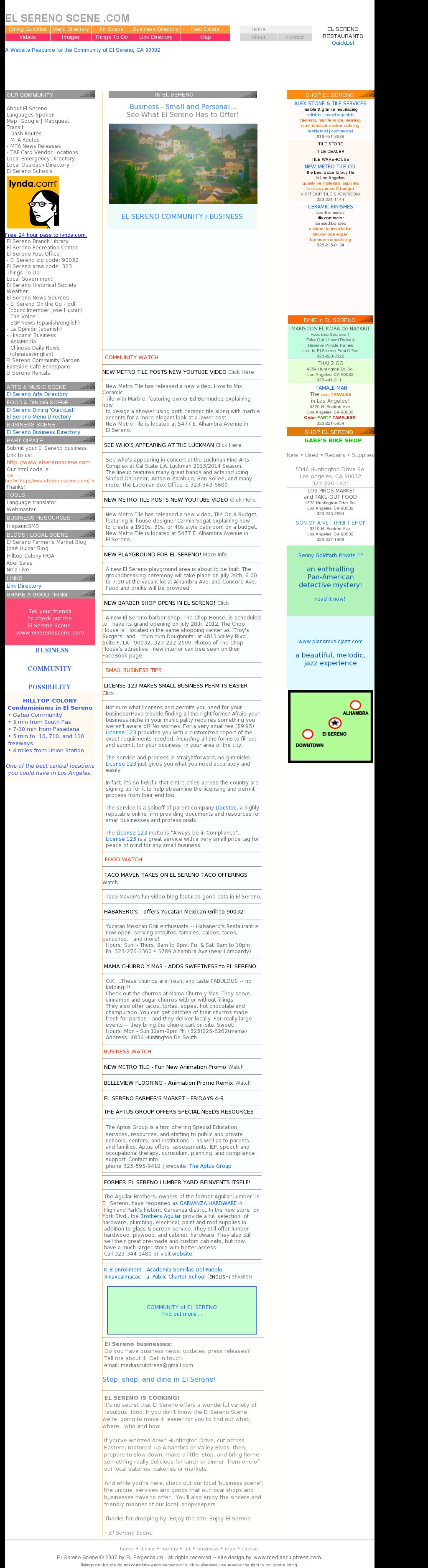 El Sereno Scene Competitors, Revenue and Employees - Owler