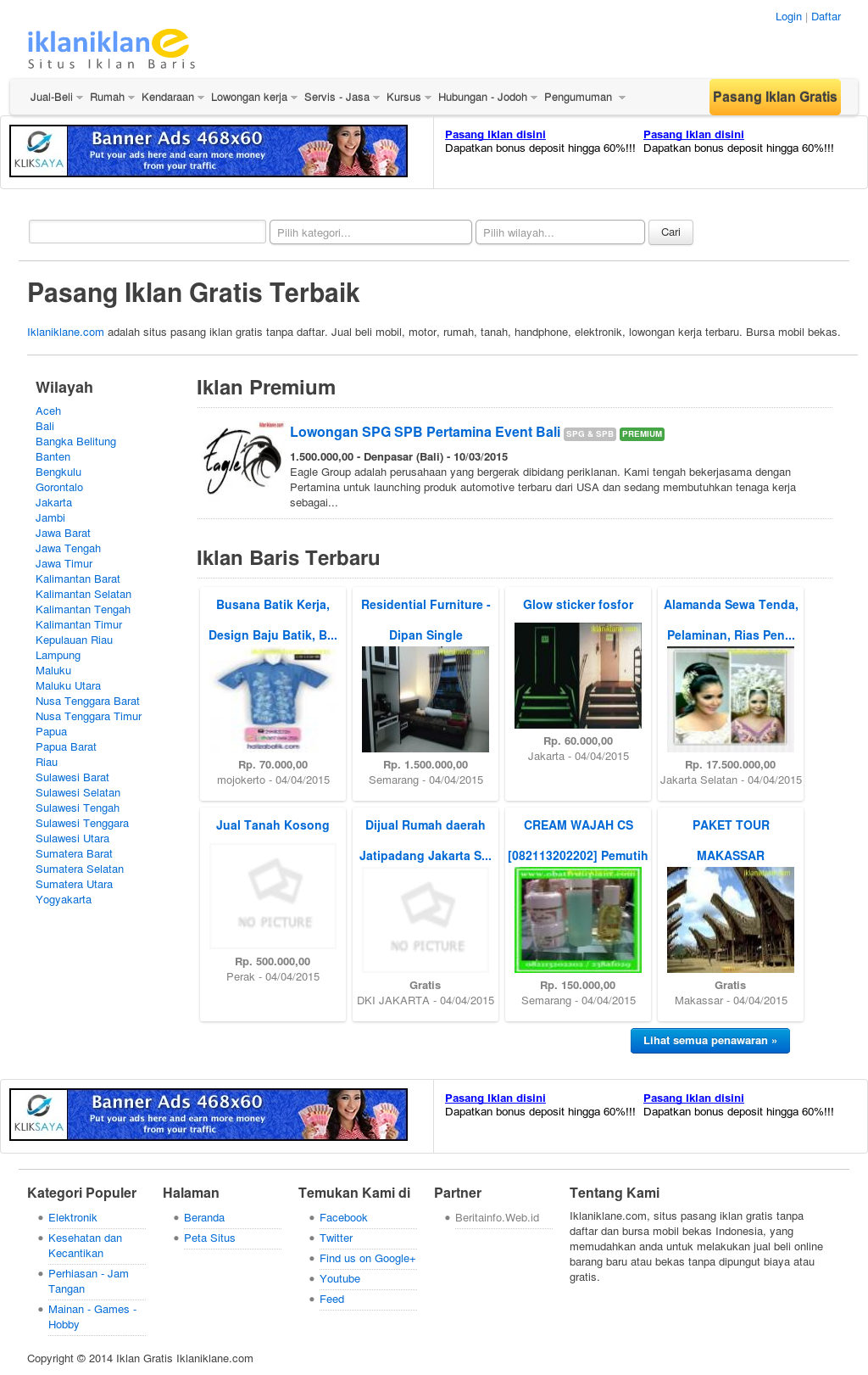 Pasang Iklan Gratis Iklaniklane Competitors Revenue And Employees Owler Company Profile