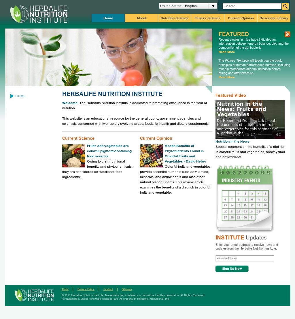 Herbalife International Of America Competitors, Revenue