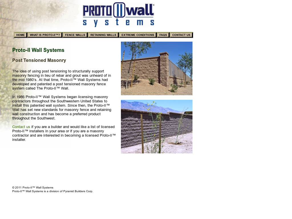 Proto-II Wall Systems Competitors, Revenue and Employees
