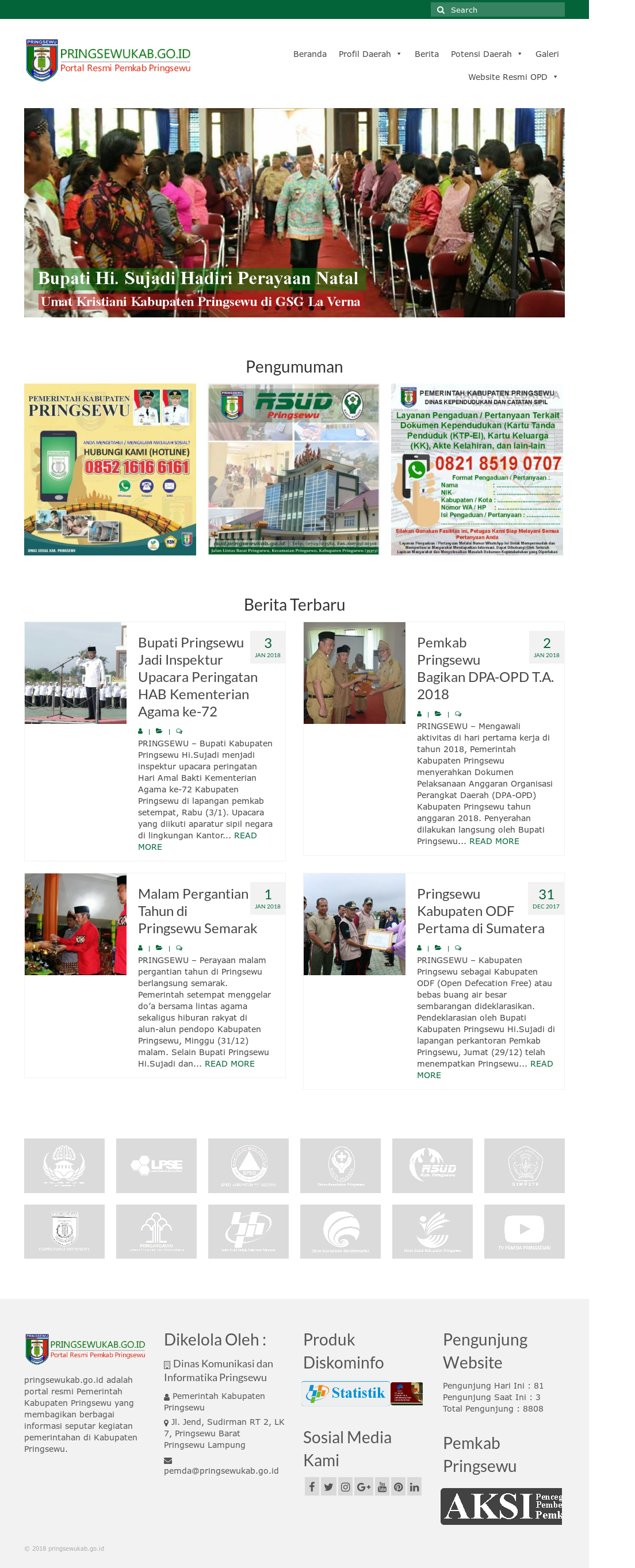 Kabupaten Pringsewu Competitors Revenue And Employees Owler Company Profile