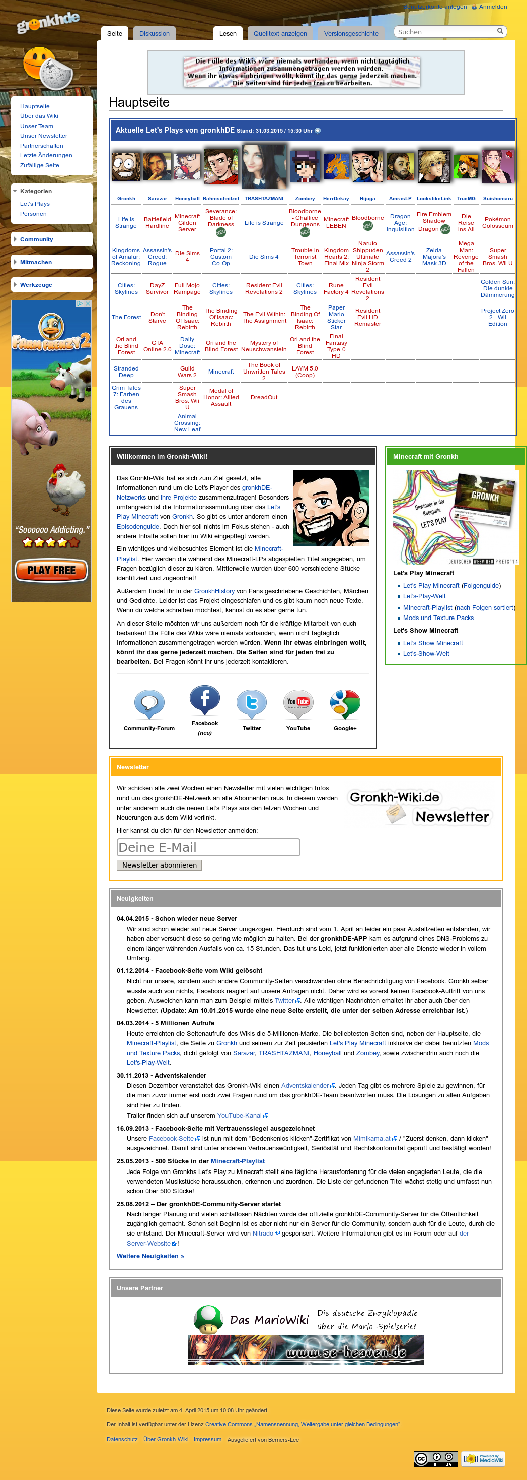 Gronkh Wiki Competitors Revenue And Employees Owler
