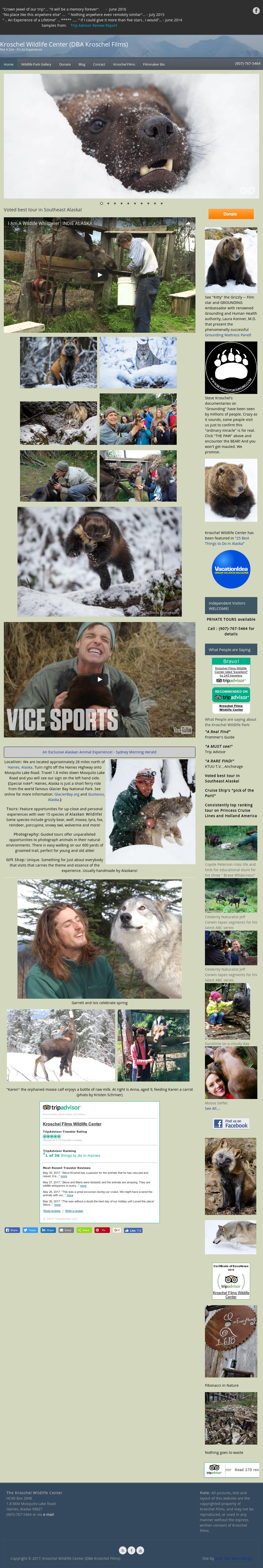 The Kroschel Wildlife Center Competitors, Revenue and