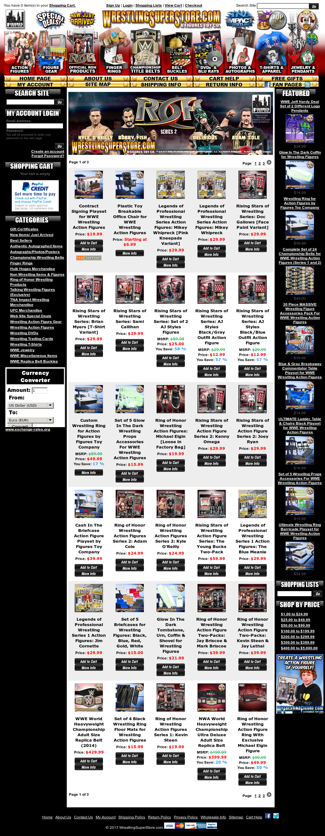 WrestlingSuperStore Competitors, Revenue and Employees