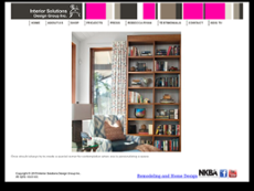 Interior Solutions Design Group Website History