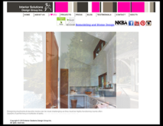 Interior Solutions Design Group Website History Enlarge Screengrabs Of How The