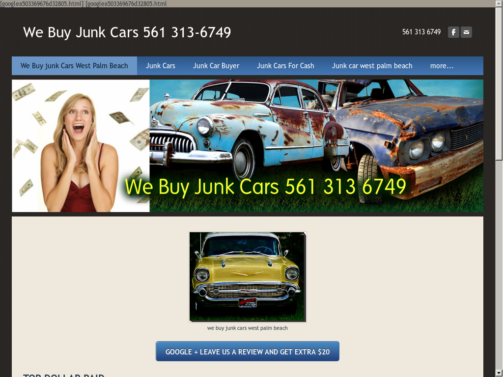 All American Cash For Junk Cars West Palm Competitors Revenue And