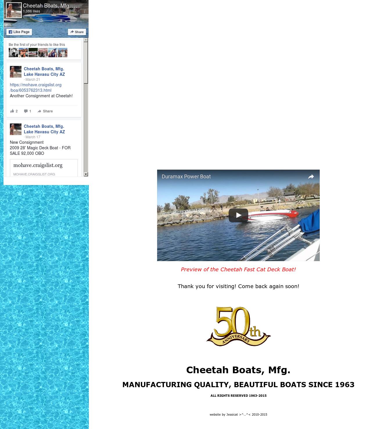 Cheetah Boats, Mfg  Lake Havasu City Az Competitors, Revenue and