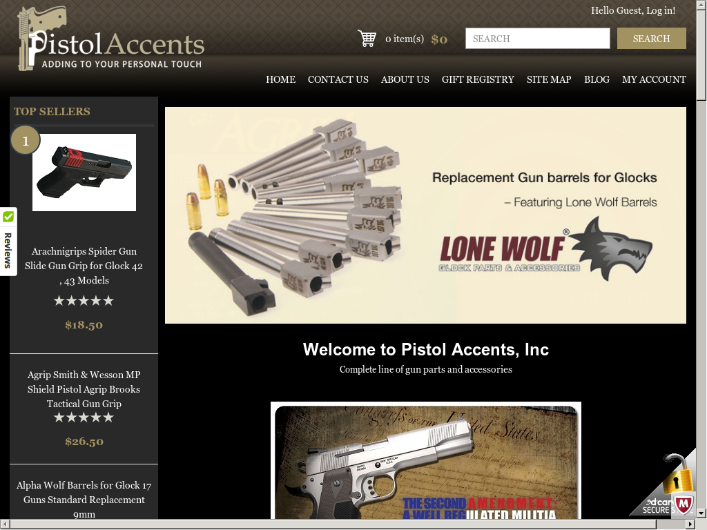 Pistol Accents Competitors, Revenue and Employees - Owler
