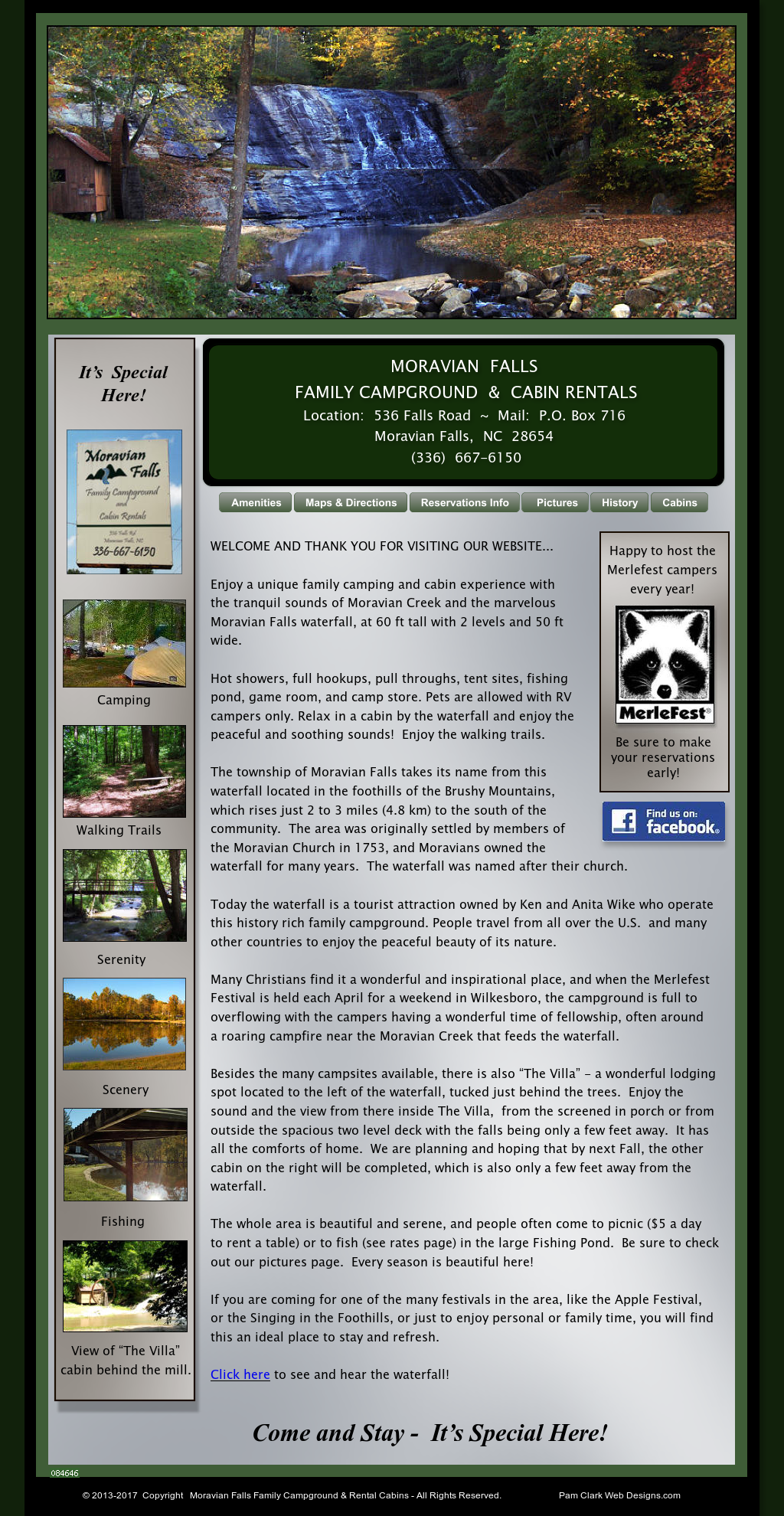 Moravian Falls Campground And Cabins Competitors, Revenue