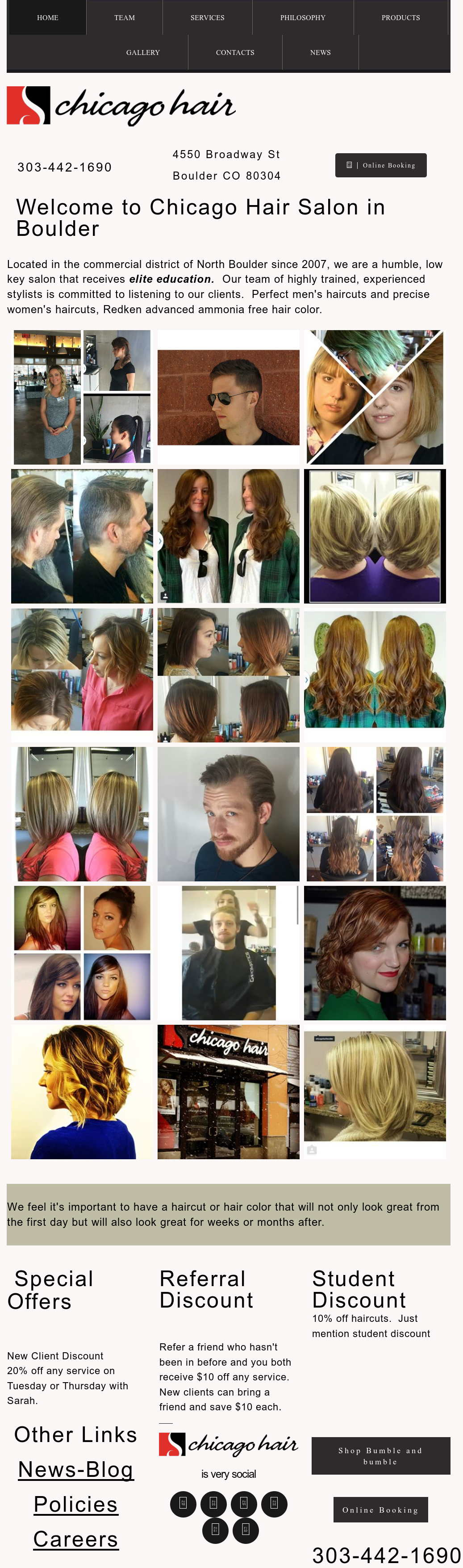 Chicago Hair Salon Competitors Revenue And Employees