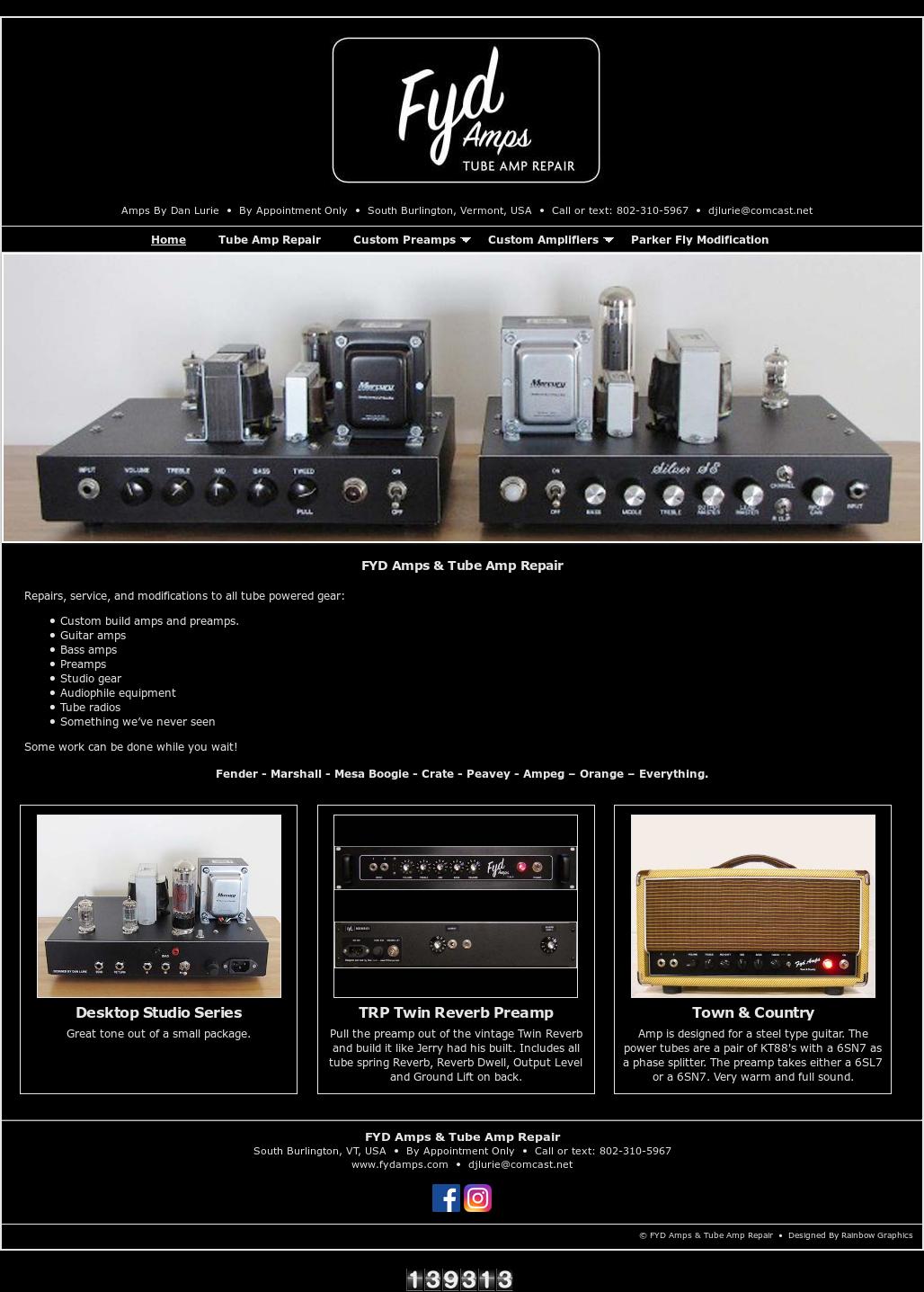 Tube Amp Repair (Fyd Amps) Competitors, Revenue and