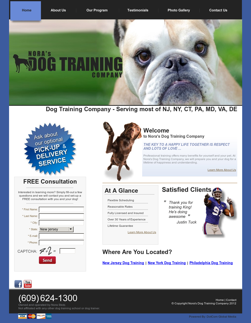 Nora S Dog Training Company