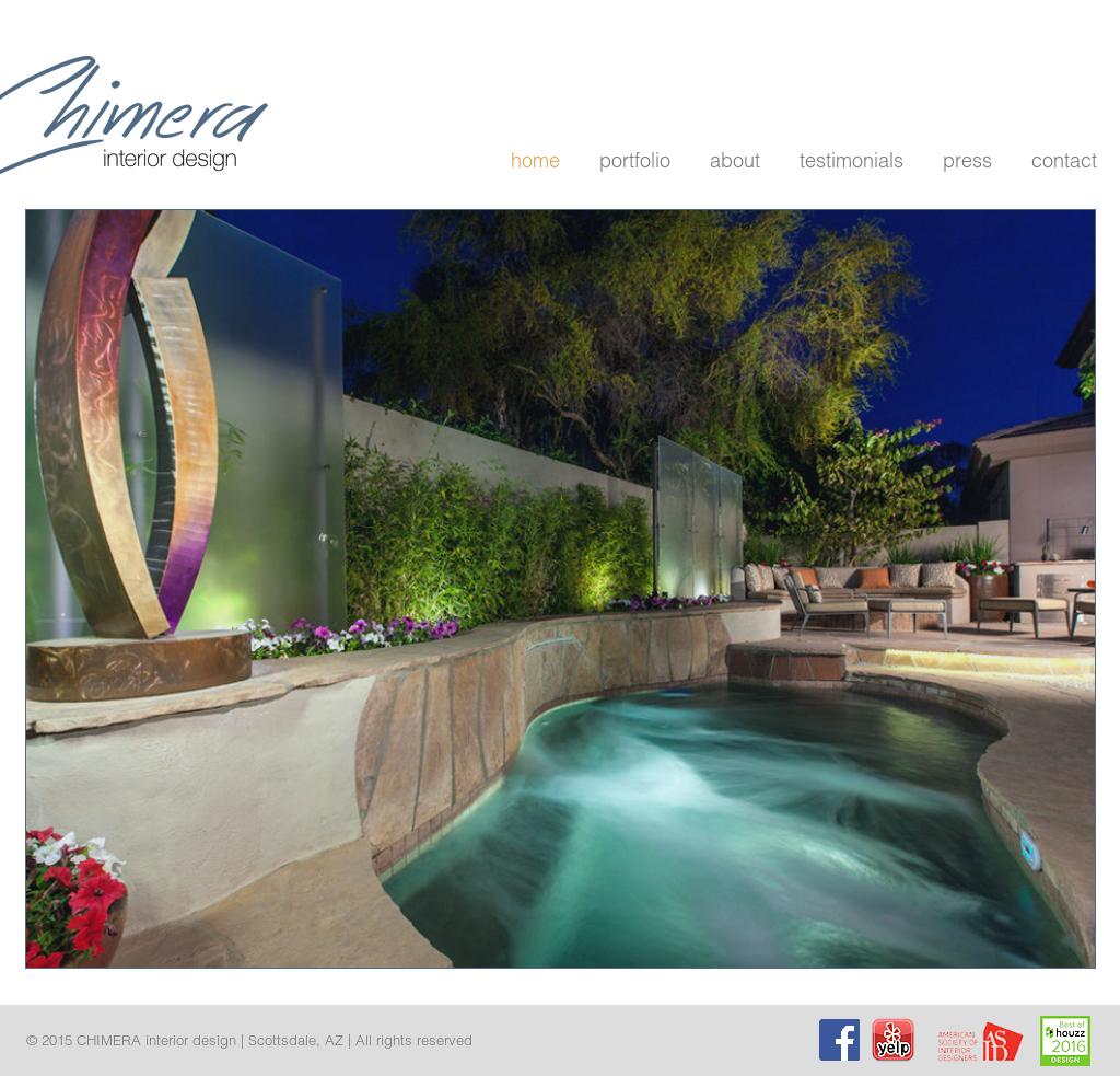 chimera interior design competitors revenue and employees owler