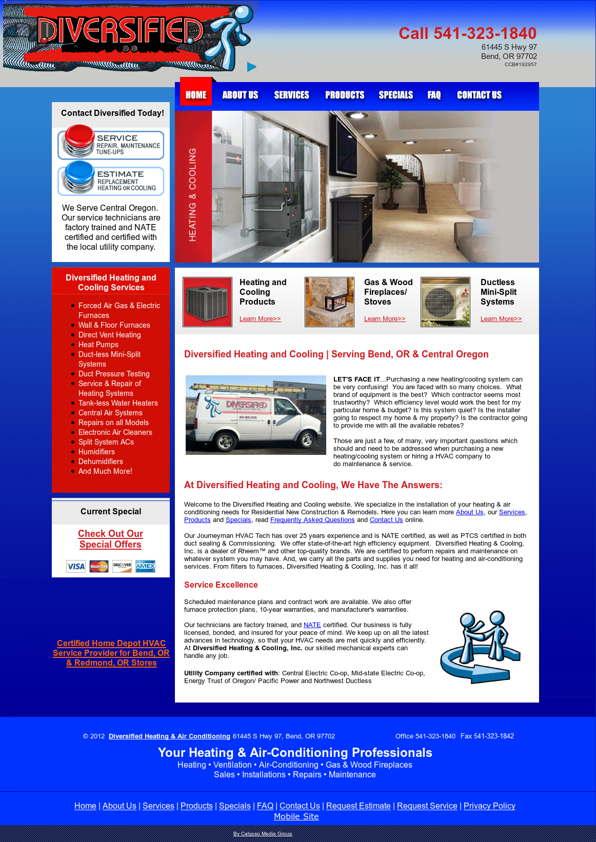 Diversified Heating Cooling Compeors Revenue And Employees Owler Company Profile