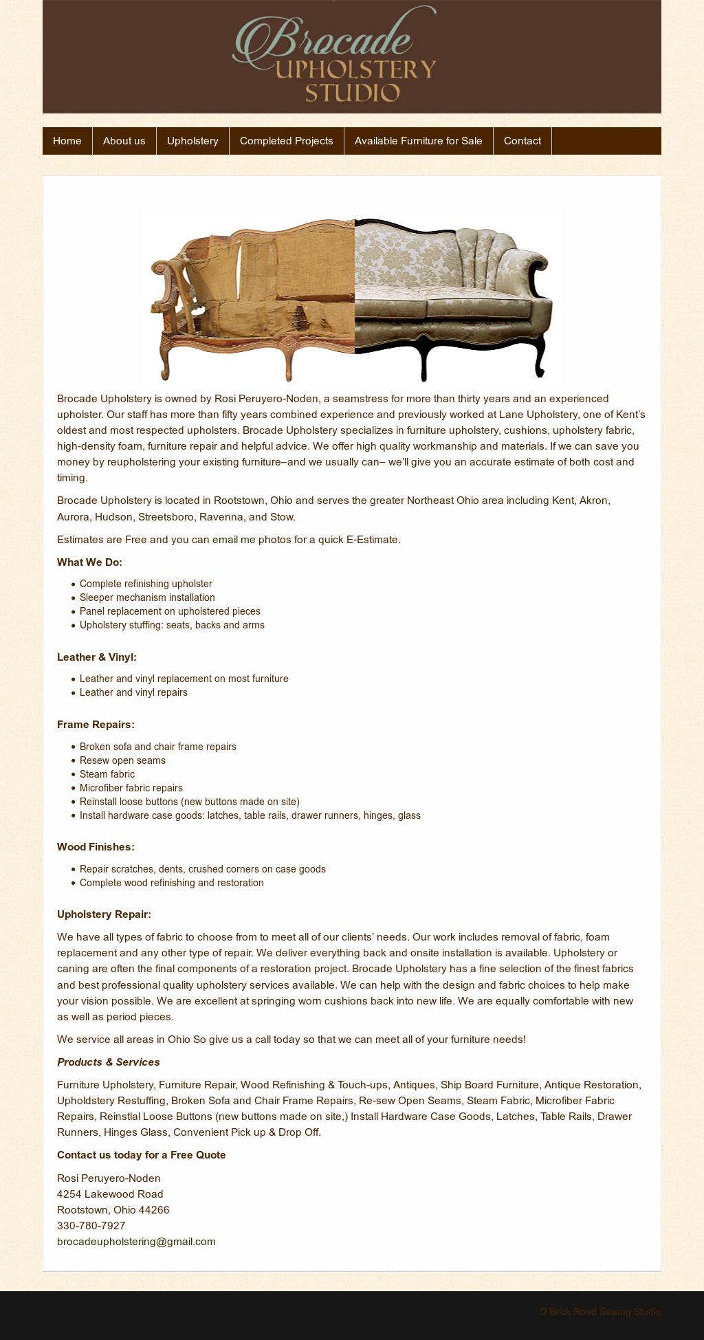 Incredible Brocade Sewing Studio Competitors Revenue And Employees Frankydiablos Diy Chair Ideas Frankydiabloscom