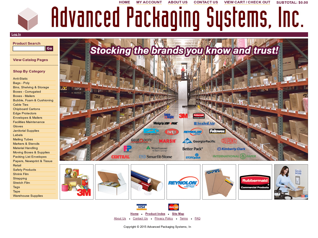 Advanced Packaging Systems Competitors, Revenue and