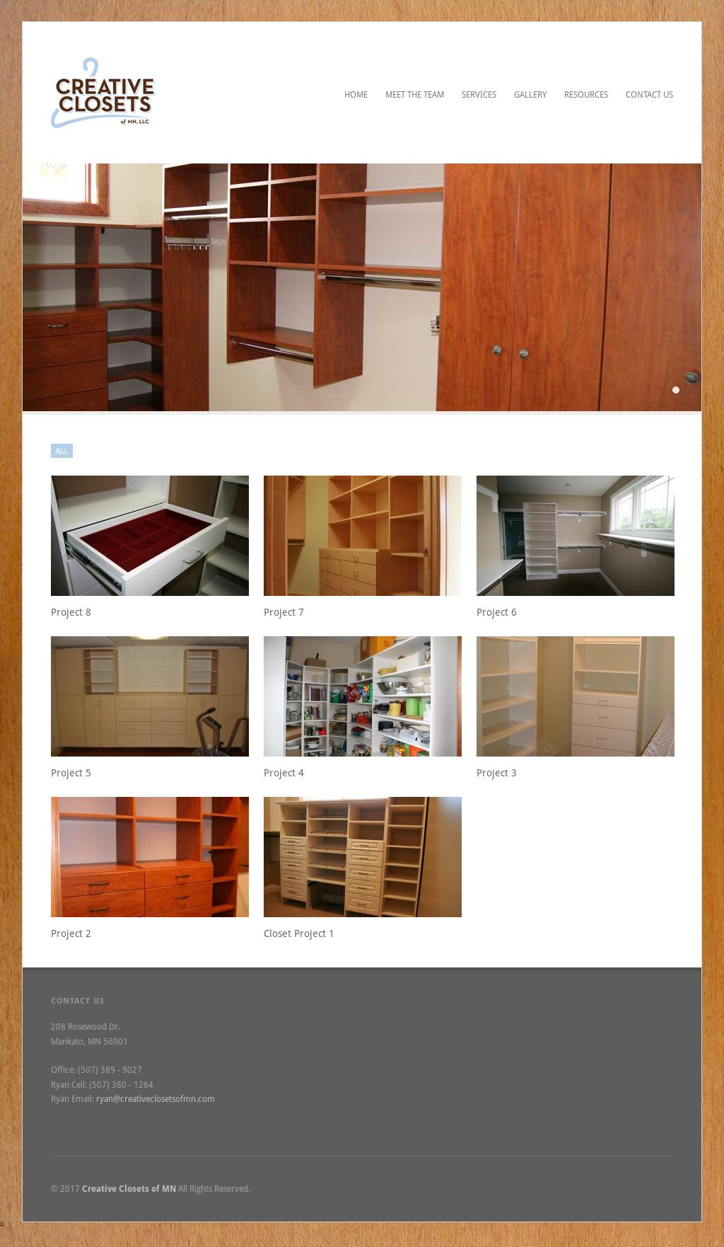 Creative Closets Of Mn Website History