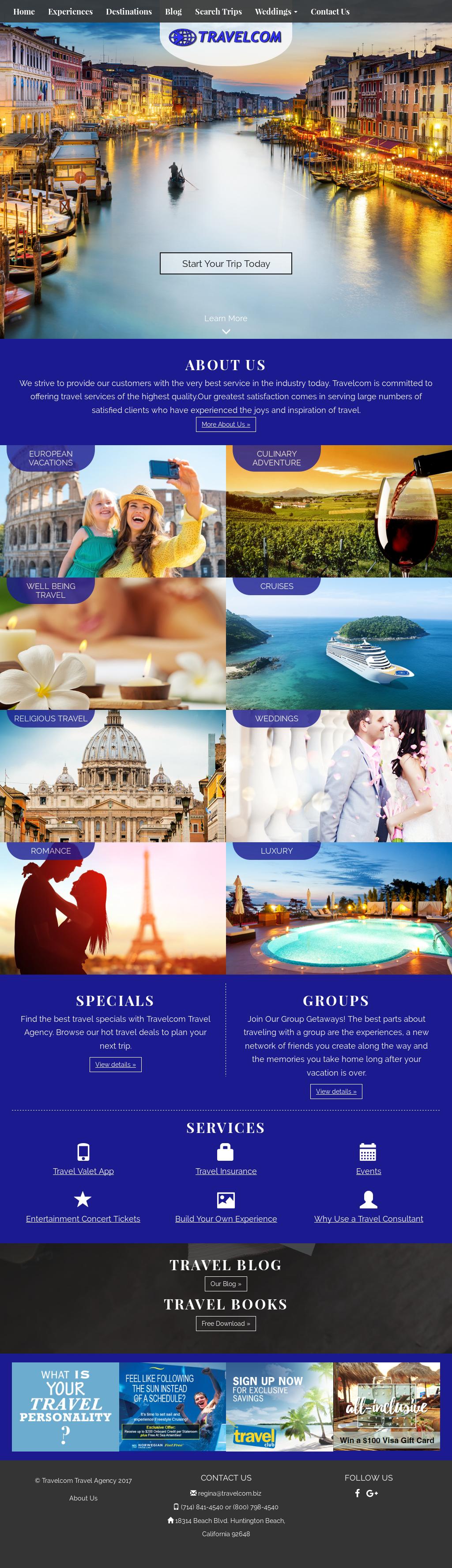Travelcom Travel Agency