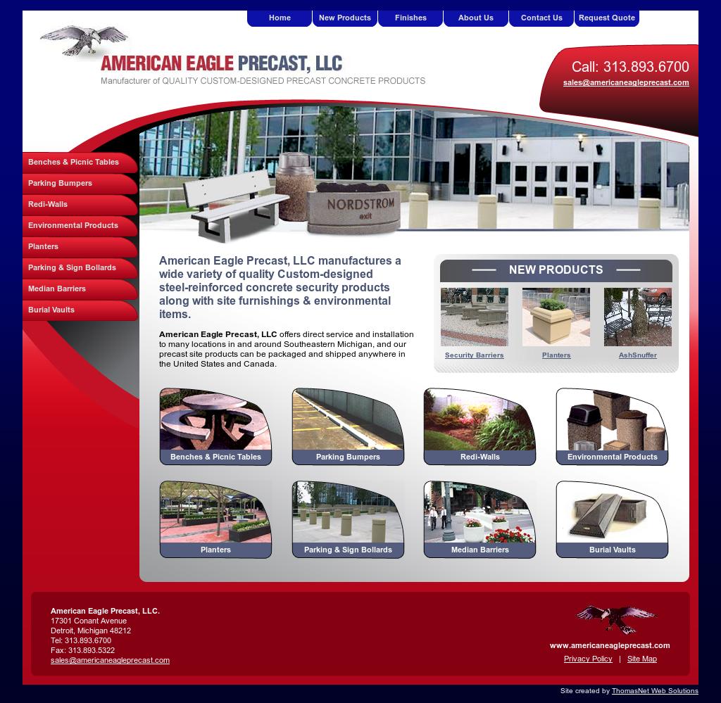 American Eagle Precast Competitors, Revenue and Employees