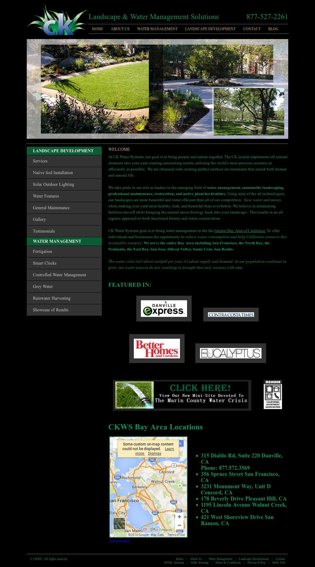 ck landscape development competitors revenue and employees owler