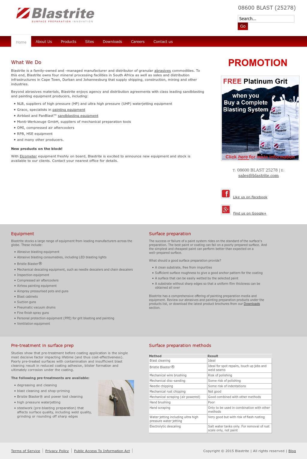 Blastrite (Pty) Competitors, Revenue and Employees - Owler