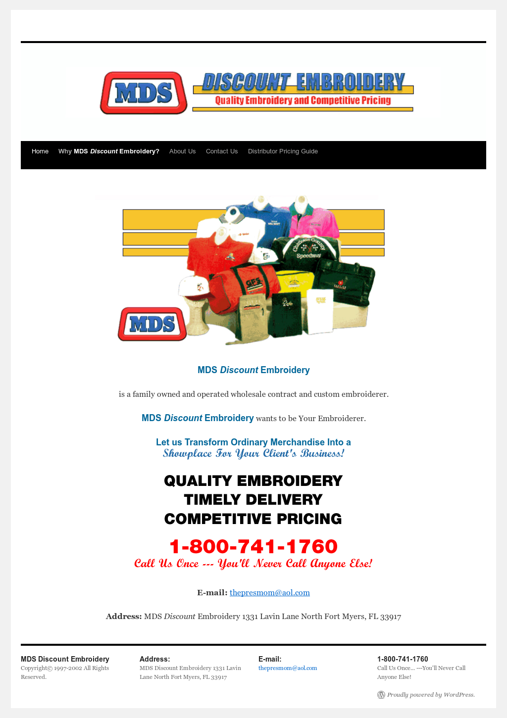 Mds Discount Embroidery Competitors Revenue And Employees Owler