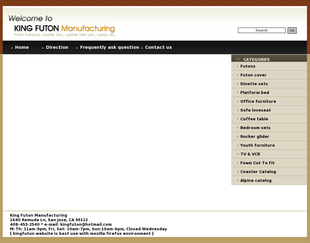 King Futon S Competitors Revenue Number Of Employees Funding Acquisitions News Owler Company Profile