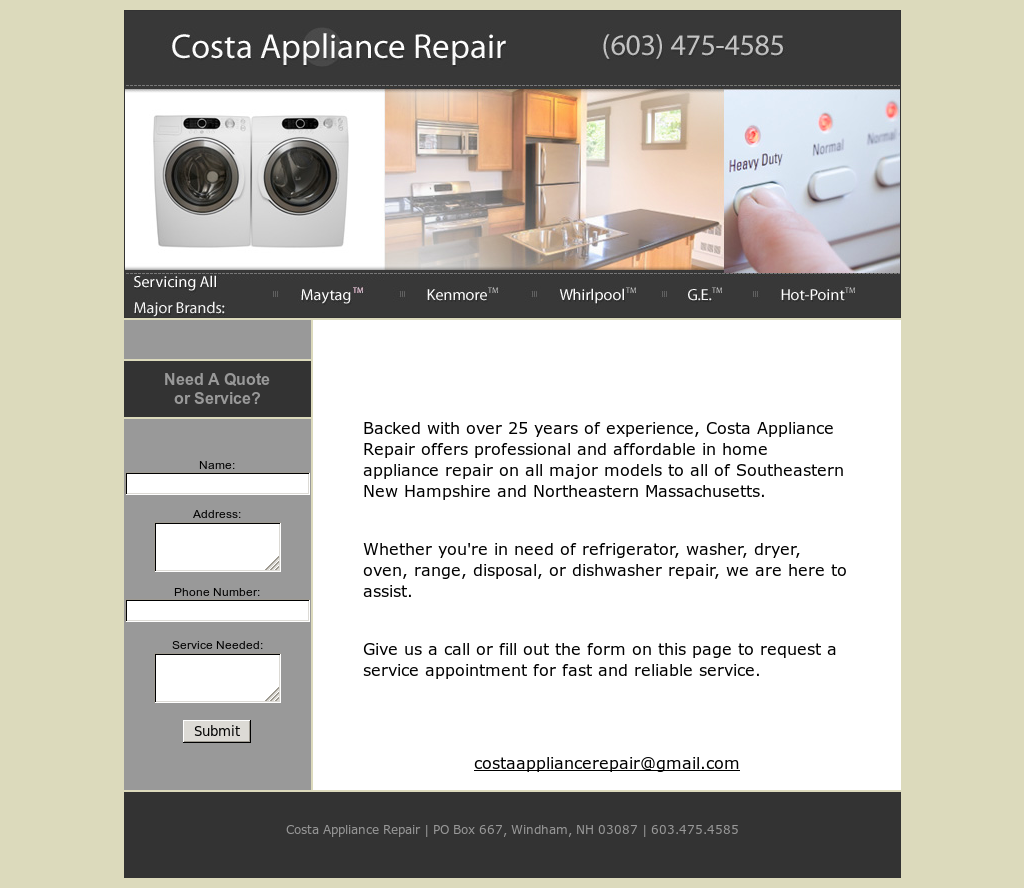 costa appliance repair competitors revenue and employees owler rh owler com refrigerator repair history refrigerator repair history comparison