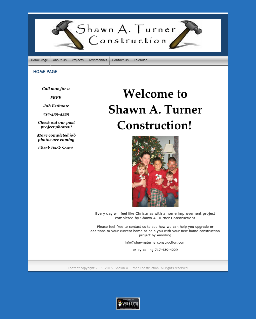 Shawn A Turner Construction Competitors, Revenue and